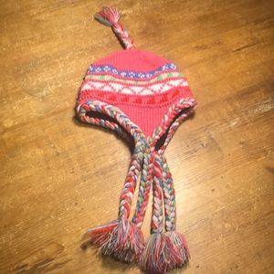 🌈5/$25 Pink Multicolor Knit Toboggan